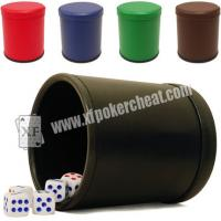 Wholesale Red Casino Dice Scanner To See Through The Dice Cup / Dice Magic Device from china suppliers
