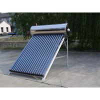 Wholesale Green Energy Automatic High Pressure Solar Geyser , Solar Water Heaters For Homes from china suppliers