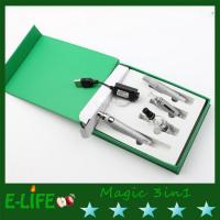 Wholesale black electronic cigarette magic 3 in 1 6 colors option dry herb vaporizer pen from china suppliers
