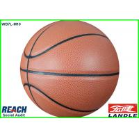 Wholesale Stamping Leather Basketball Balls Size 1 / Full Printing Rubber Basketball Size 2 from china suppliers