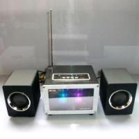 Wholesale Woodiness Combination Band Flash Color Mini Speaker #UK-2101 from china suppliers