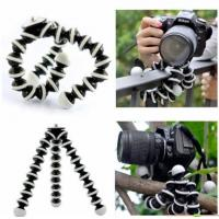 Buy cheap Large Flexible Tripod for SLR, DSLR and compact cameras - Black from wholesalers