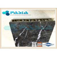 Lightweight Stone Aluminum Honeycomb Panel With Marble Stone Veneer Anti - Pollution