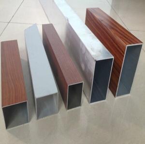 Wholesale Rectangular Aluminum Extrusion Tube T4 , Authorized Welding Aluminum Tube from china suppliers