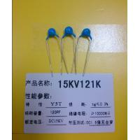 Wholesale 15KV 121K DC 15KV 120pF Ceramic Disc Capacitor For Printed Circuit Board from china suppliers