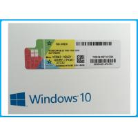Wholesale OEM French Language Microsoft Windows 10 Pro Software online activation with COA sticker from china suppliers