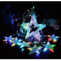 Quality RGB led star curtain string light wedding decorative light for sale