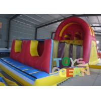 Wholesale Durable Fun Inflatable Obstacle Course Inflatable Combo With Two Lanes Slide from china suppliers