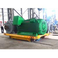 Wholesale 25t steel factory apply railway motorized cart running on steel rails from china suppliers