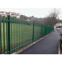 Wholesale steel palisade fencing panels from china suppliers