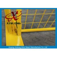 Wholesale Easy Install Temporary Construction Fence Panels For Sports Field XLF-10 from china suppliers