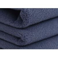 Wholesale Plain Polar Micro Fleece Fabric For Jacket , Anti Pill Fleece Fabric from china suppliers