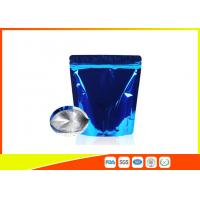Wholesale Food Grade Tea Packaging Bags , Laminated Moisure Proof Foil Coffee Bags With Zipper from china suppliers