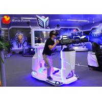 Wholesale 9d VR Stand Gatling Walker Space Amusement Park HTC Vive Shooting Battle Game Machine from china suppliers