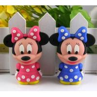 Wholesale Customized Mickey Mouse PVC USB Device Driver 4GB 8GB 16GB 32GB 64GB from china suppliers