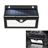 Wholesale Outdoor Waterproof Motion Sensor LED Light , Light Controlled Solar Wall Lights from china suppliers
