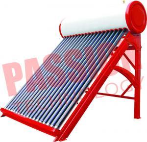 Wholesale Portable Non Pressurized Solar Water Heater Non Pressurized Vacuum Tube 200L from china suppliers