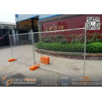 Wholesale AustraliaTemporary Fence Panel with Plastic Feet | 42μm Gal. | 2.1X2.4m from china suppliers