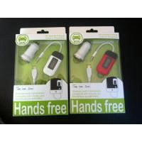 Wholesale Car FM transmitter handsfree for mobilephone from china suppliers