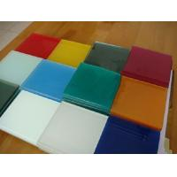 Quality Blue Painted glass / colored glass / tinted glass of 2mm,3mm,4mm,5mm,6mm for sale