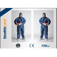 China Flame Retardant Disposable Protective Coveralls For Asbestos Removal Anti Static on sale