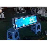 Buy cheap Professional P2.5 mm Full Color Taxi Roof LED Display Car Top LED Advertising signs from wholesalers