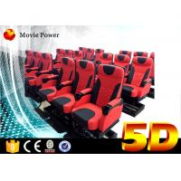 Wholesale 24 Seats Dynamic Theater Large 5D Movie Theater With Electric Motion Platform from china suppliers