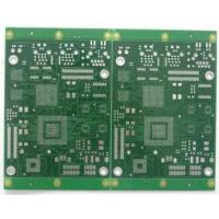 Wholesale FR4 Electronics gold finger pcb board Green with Silkscreen White from china suppliers