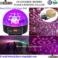 Wholesale Disco KTV LED Magic Ball Light Strobe RGB Stage Lighting Sound Activated from china suppliers