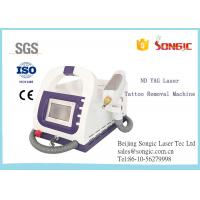 Wholesale Portable Q Switch ND YAG Laser Tattoo Removal Machine / Age Spot Removal Machine from china suppliers