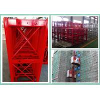 Quality High Efficiency Construction Material Hoist , Building Site Lifting Heavy Equipment Twin Cage for sale