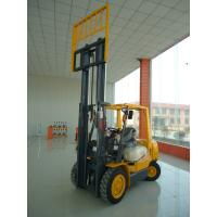 Wholesale 3Ton diesel forklift truck with full free container mast exported to overseas from china suppliers