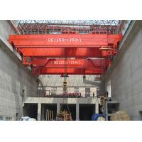 Buy cheap QD Type 5~50/10T Strong Electric Double Girder Overhead Bridge Crane from wholesalers