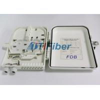 Wholesale 16 Core ABS FTTH Fiber Optic Distribution Box For FTTX Access System Terminal Link from china suppliers