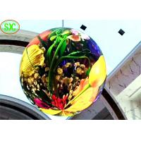 Buy cheap high definition indoor full color diameter 1.2m  p4 soft module  led ball screen from wholesalers