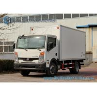 Wholesale 4 X 2 Light Duty 3 Ton Refrigerated Box Truck Dongfeng Cooling Van Truck from china suppliers