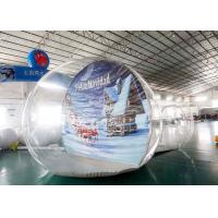 Buy cheap OEM Inflatable Snow Globe with Tunnel for Promotion from wholesalers