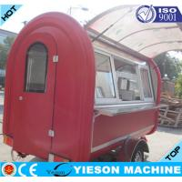 Wholesale Mobile Catering Trailers YS-FV300A Snack Food Van Fast Food Cars Carts from china suppliers