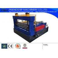 Buy cheap Simple Roof Panel Roll Forming Machine Steel Slitting Lines Width 1000mm from wholesalers