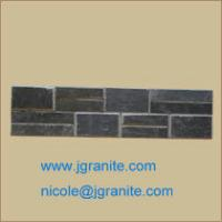 Buy cheap Black  Slate Stone from wholesalers