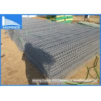 Buy cheap Easily Installation Brc Roll Top Fence 75 X 300mm With Powder Painted from wholesalers