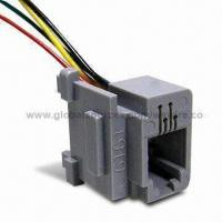 Wholesale Wire Cable Harness with Cat 5 Modular Jack Plug to Stripped Wire for Communication from china suppliers