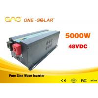 Wholesale Intelligent cooling fan Dc Ac Single Output 5000 Watt Pure Sine Wave Inverter With Charge from china suppliers