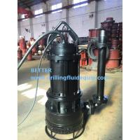 Buy cheap BETTER Heavy Duty Submersible Slurry Pump For Mining Dredging Slurring from wholesalers