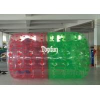 Wholesale Red And Green 2.8m Long Inflatable Water Roller Ball Water Sport Games from china suppliers