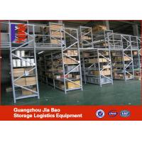 Wholesale Industrial Steel Pallet Rack Mezzanine Systems With Multi-tier platforms from china suppliers