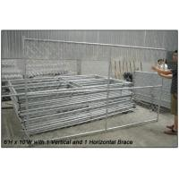 Wholesale 60x60mm event hot galvanized chain link temporary fence from china suppliers