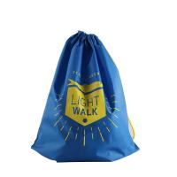 Wholesale Blue Households Products , Cinch Drawstring Bag With Floral Design Printing from china suppliers