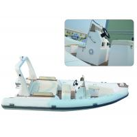 Wholesale Large Rigid Hulled Inflatable RIB Boats Tenders Inflatable Power Boats 7.0 Meter from china suppliers