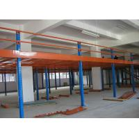 Wholesale 2 Levels Cold Rolling Industrial Steel Storage Racks Platform Orange / Blue Color from china suppliers